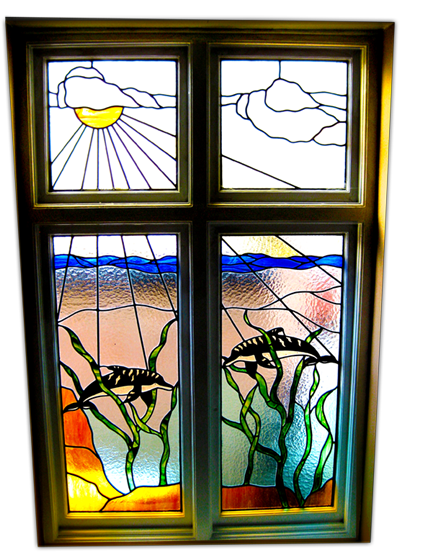Cathy's Stained Glass Window