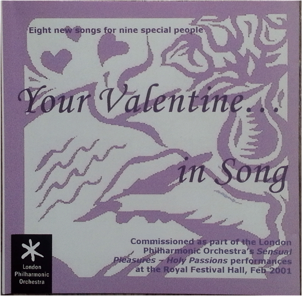 Valentine in song